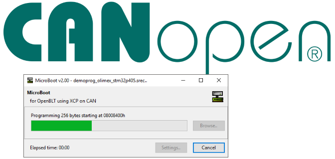 Feaser images for the article titled CANopen bootloader based on OpenBLT