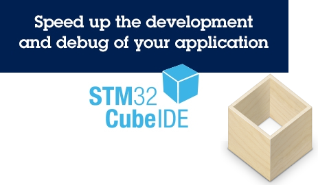 Decorative image for the article about how to install STM32CubeIDE on Linux as a Flatpak.