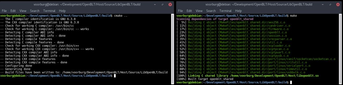 manual:libopenblt [OpenBLT - Opensource BootLoader Tool]